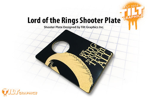 Lord of the Rings Shooter Plate