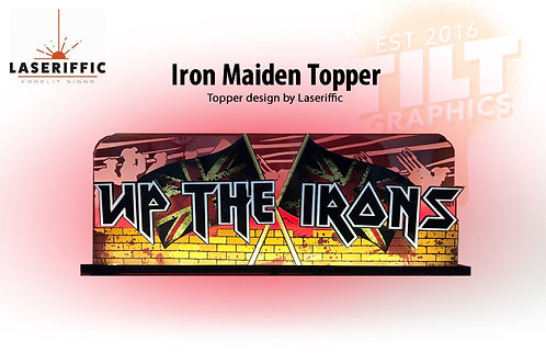 Iron Maiden Pinball Topper - Made in the USA
