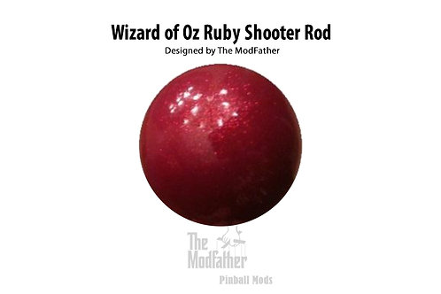 Wizard of Oz: Ruby Red Custom Shooter Rod