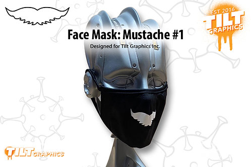 Face Mask: Mustache 1
