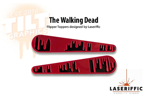 The Walking Dead Flipper Toppers