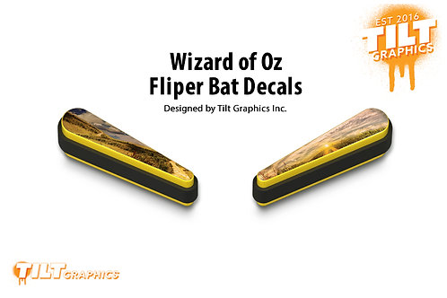 Wizard-of-Oz Flipper Bat Decals