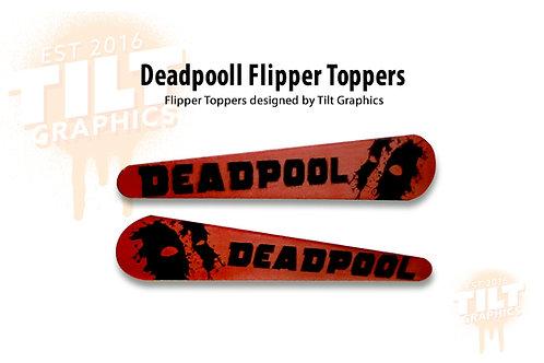 Deadpool Mask Flipper Toppers