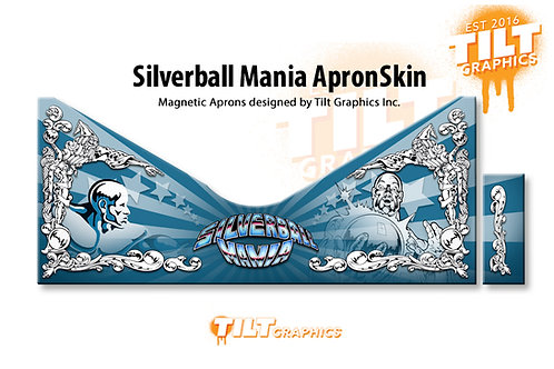 Silverball Mania Magnetic ApronSkin™