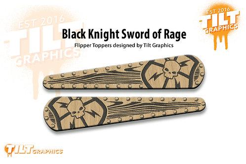 Black Knight Sword of Rage: Shield Flipper Toppers