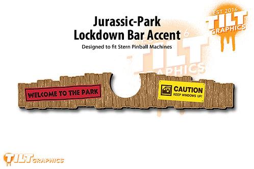 Jurassic-Park Stern: Lockdown Bar Accents