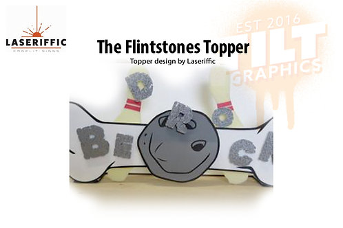 The Flintstones Pinball Topper - Made in the USA