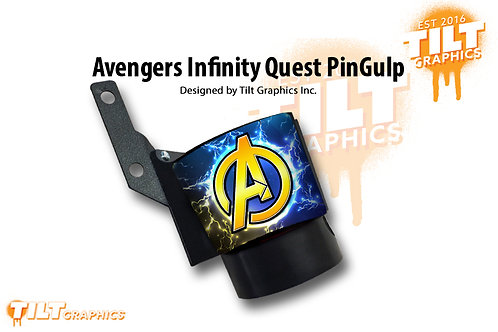 Avengers Infinity Quest Inspired PinGulp Beverage Caddy