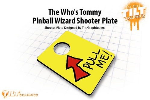The Who's Tommy Shooter Plate