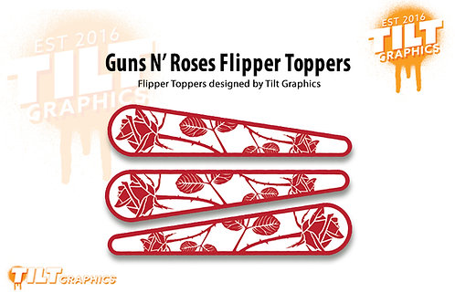 Guns N Roses: 3 Flipper Toppers