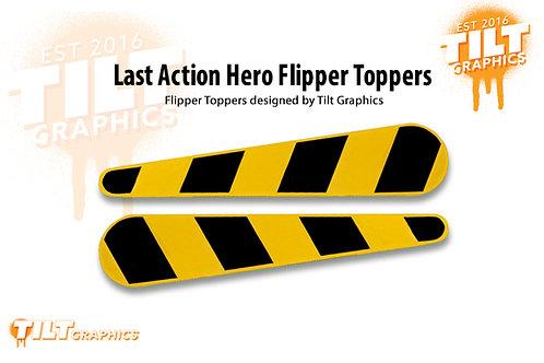 Last Action Hero Flipper Toppers
