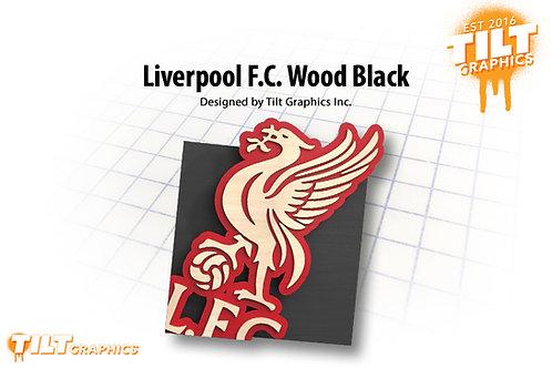 Liverpool F.C. Wood Block