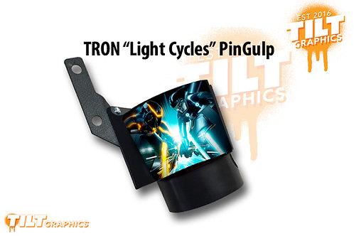 "Tron ""Light Cycle"" PinGulp Beverage Caddy"