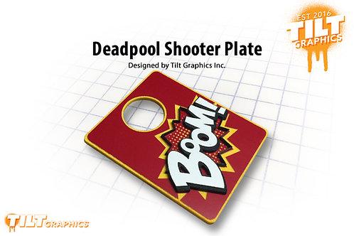 """Deadpool 3D """"Boom"""" Shooter Plate"""