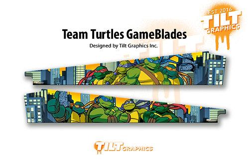 TMNT - Team Turtles GameBlades™ - Stern
