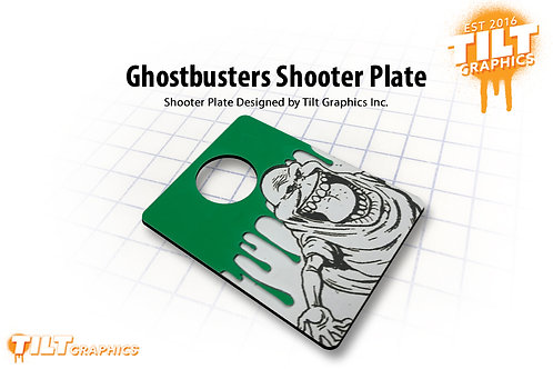 Ghostbusters 3D Slimer Shooter Plate