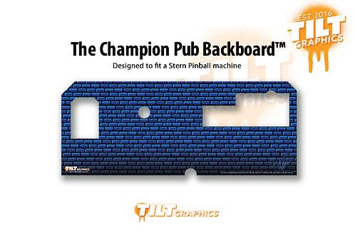 The Champion Pub Backboard