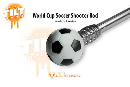 World Cup Soccer Shooter Rod