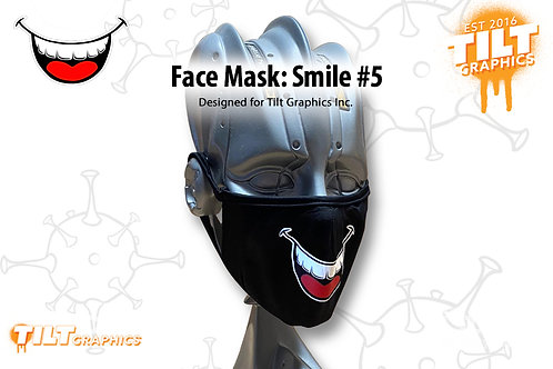 Face Mask: Smile 5