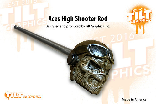 Aces High Inspired Shooter Rod