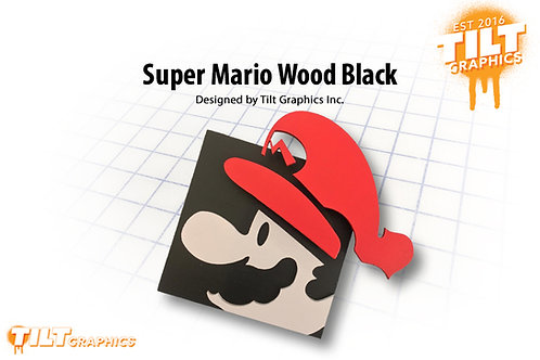 Super Mario Wood Block