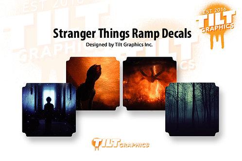 Stranger Things 4-Pack Ramp Decal Bundle