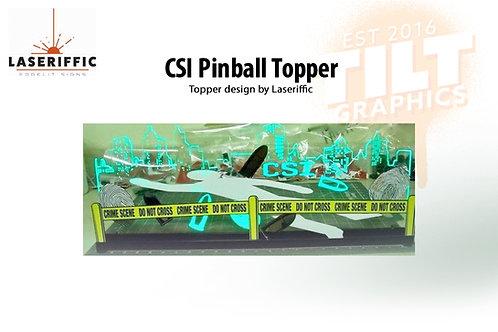 CSI Pinball Topper - Made in the USA