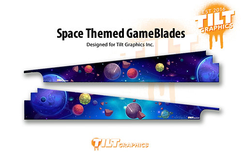 "Space Themed ""RNM"" GameBlades™"