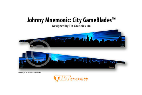 Johnny Mnemonic: Cityscape GameBlades™