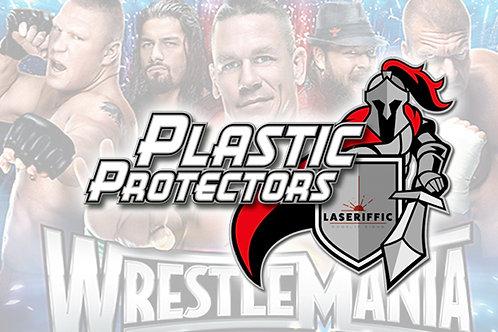 WWE Plastic Protectors