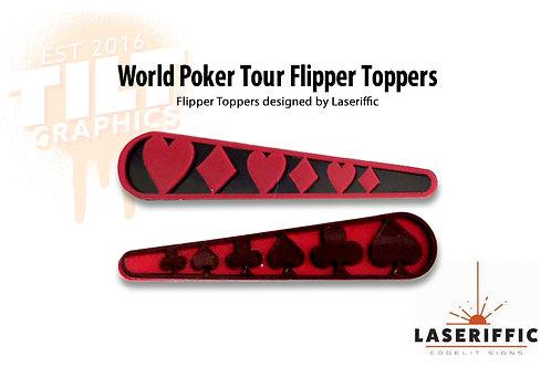 World Poker Tour / Gambling Flipper Toppers