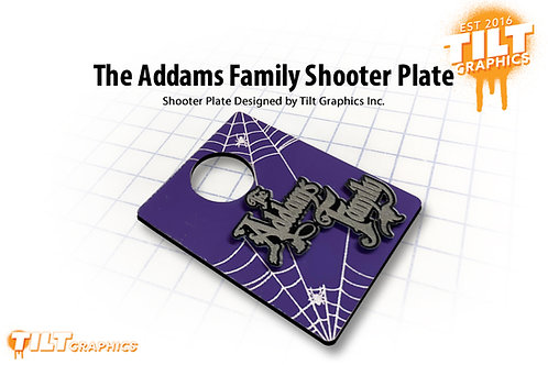 The Addams Family Shooter Plate
