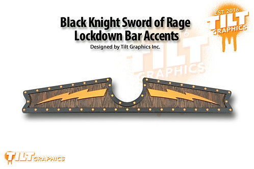Black Knight Sword of Rage Lockdown Bar Accents