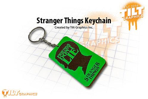 Stranger Things Custom Keychain