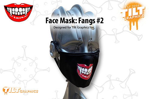 Face Mask: Fangs 2