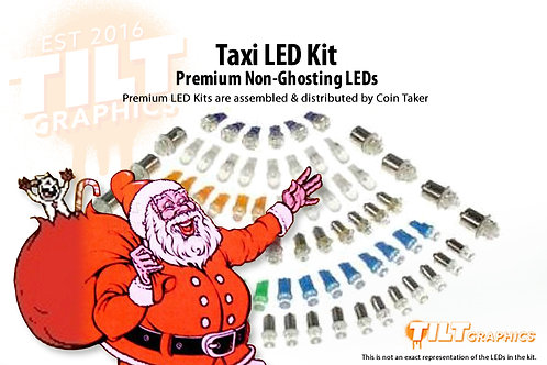 Taxi LED Kit with Premium Non-Ghosting LEDs