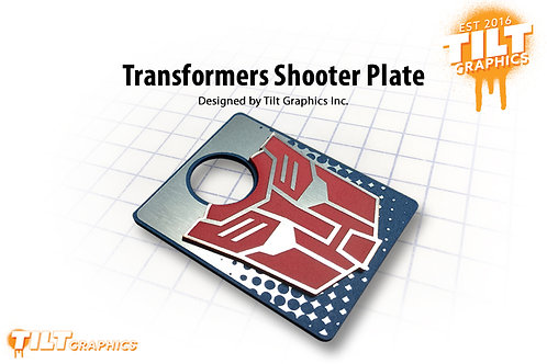 Transformers Shooter Plate