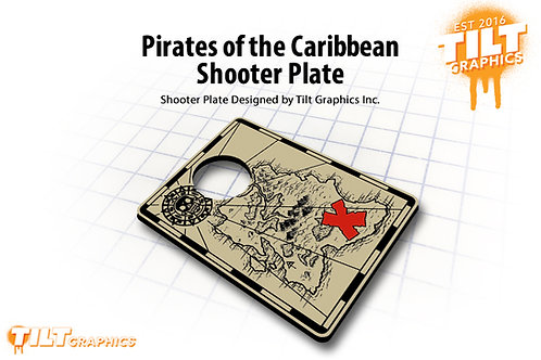 Pirates of the Caribbean Shooter Plate