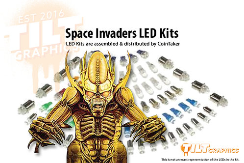 Space Invaders LED Kits