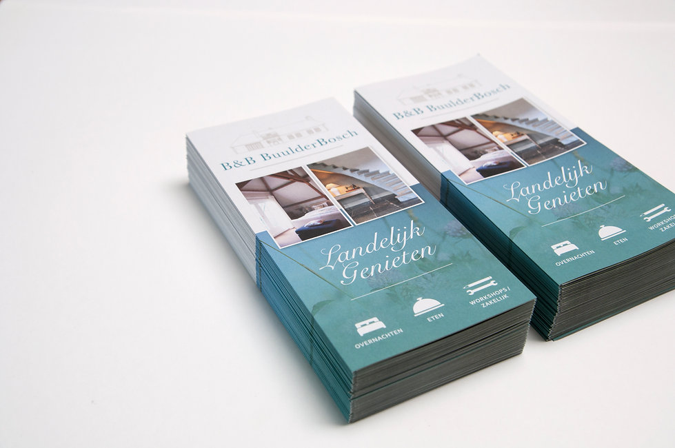 B&B Buulderbosch Brochure Design