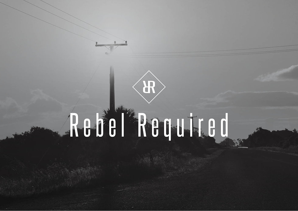 Rebel Required Logo Design
