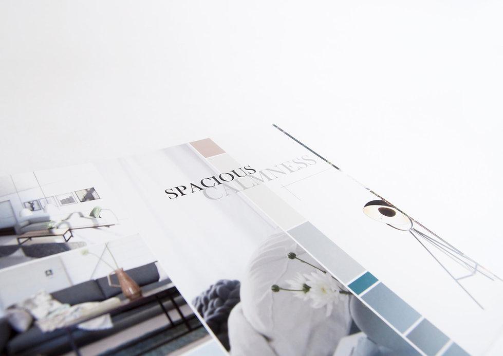 Brochure Design Medie Jansse Interieur Architectuur