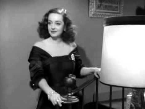"""Bette Davis as Margo Channing in """"All About Eve."""""""