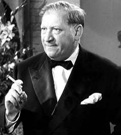 """Gregory Ratoff as Max Fabian in """"All About Eve."""""""