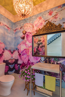 Powder Room, Hampton Designer Showhouse 2016 by Steven Stolman