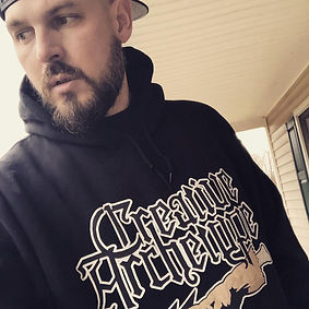 Creative Archetype--The touch--Hoodie -