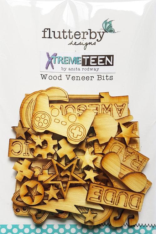 'Xtreme Teen' Wood Veneers Bits