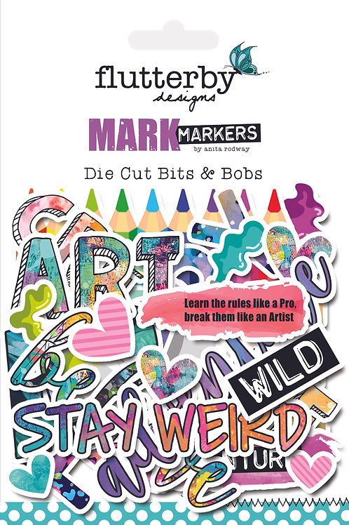 'Mark Makers' Die Cut Bits & Bobs