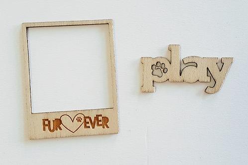 Fur-Ever Friends Wood Veneer