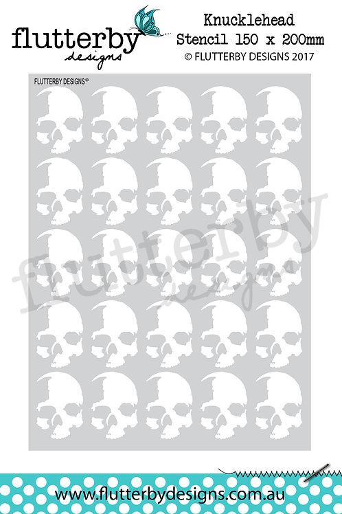 'Knucklehead' Stencil 150 x 200mm